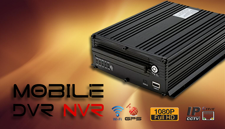 IP FULL HD MOBIL NVR